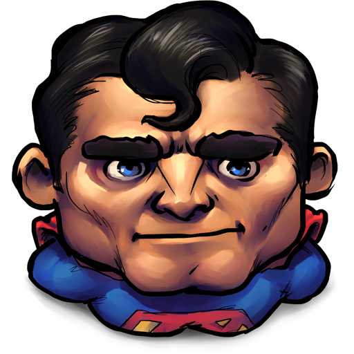 Comics Older Superman Icon Ultrabuuf Iconset Mattahan