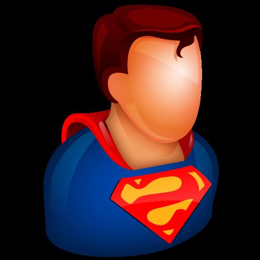 Superman Icon Free Large Boss Iconset Aha Soft
