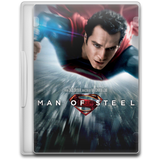 Man Of Steel Icon Movie Mega Pack Iconset