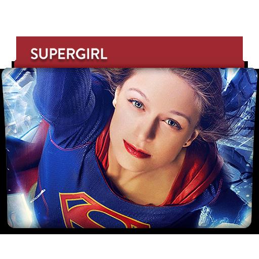 Supergirl Tv Series Folder Icon