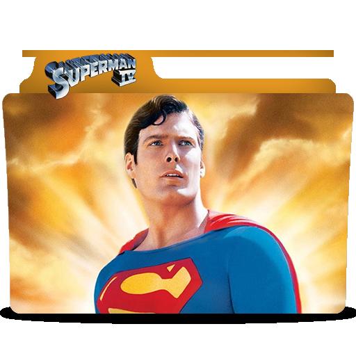 Superman Iv Folder Icon