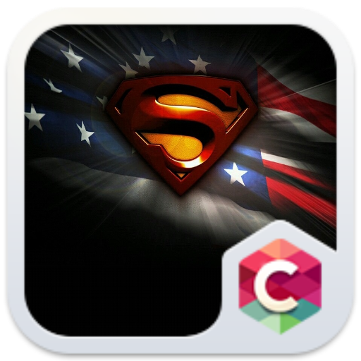 Superman Free Android Theme U Launcher
