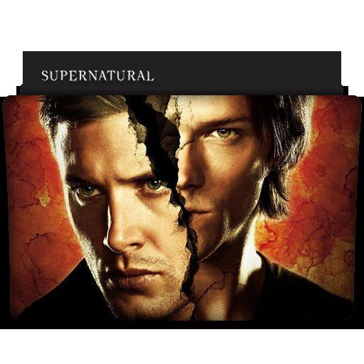 Supernatural Tv Series Folder Icon