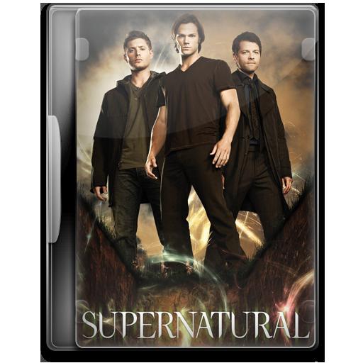 Supernatural Icon Tv Show Mega Pack Iconset