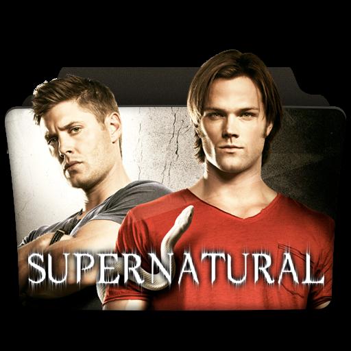 Supernatural Icon Tv Series Folder Pack Iconset