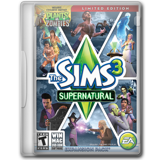 The Sims Supernatural Limited Edition Icon