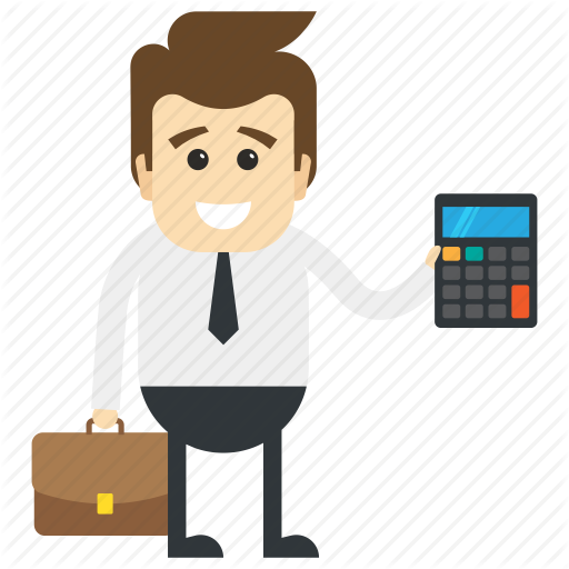Bookkeeper, Business Accountant, Cashier, Clerk, Supervisor Icon