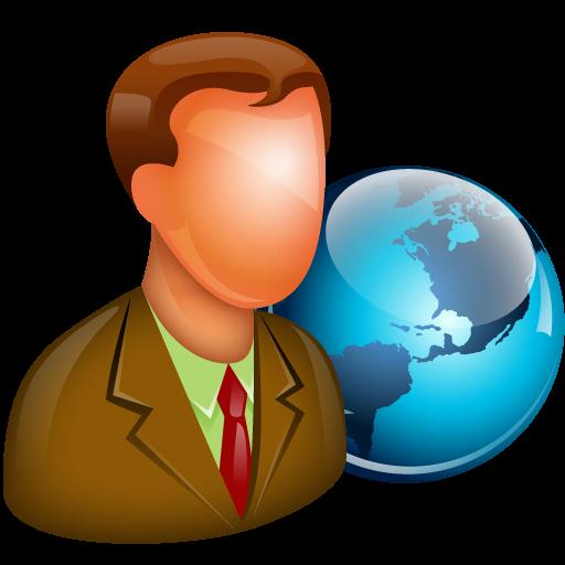 Global Manager Icon Free Large Boss Iconset Aha Soft