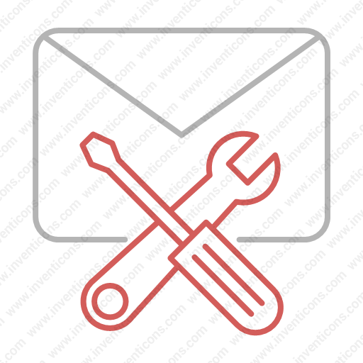 Download Email,support Icon Inventicons