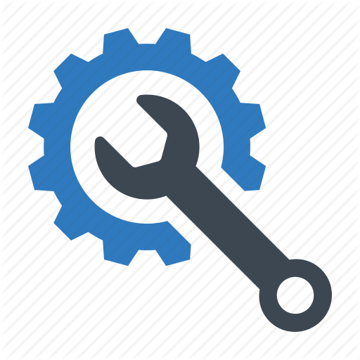 Maintenance, Setting, Technical Support Icon
