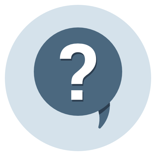 Question, Quiz, Feedback, Comments, Enquiry, Help, Support Icon