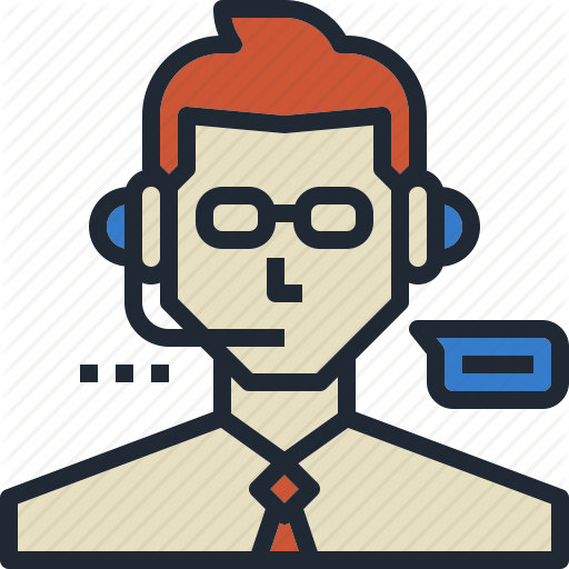 Commentator, Customer, Service, Support, Team Icon