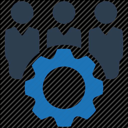 Support Team, Teamwork, Technical Team Icon