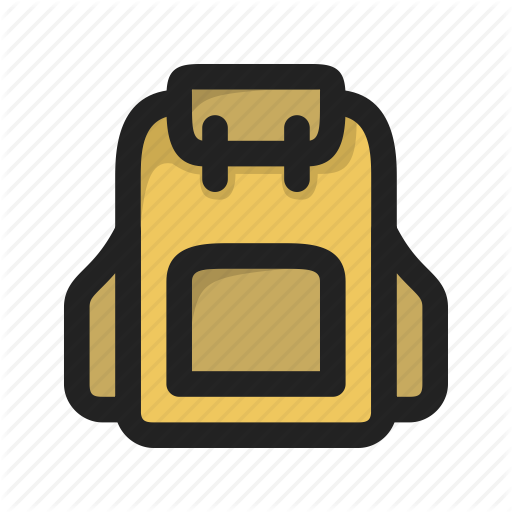 Backpack, Camping, Outdoor, Supplies, Survival Icon