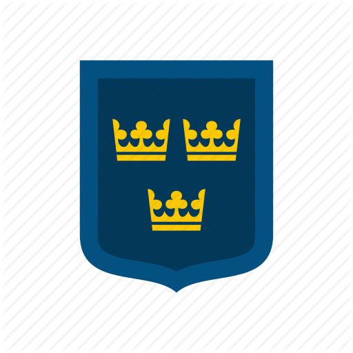 Arms, Coat, Country, Flag, National, Sweden, Swedish Icon