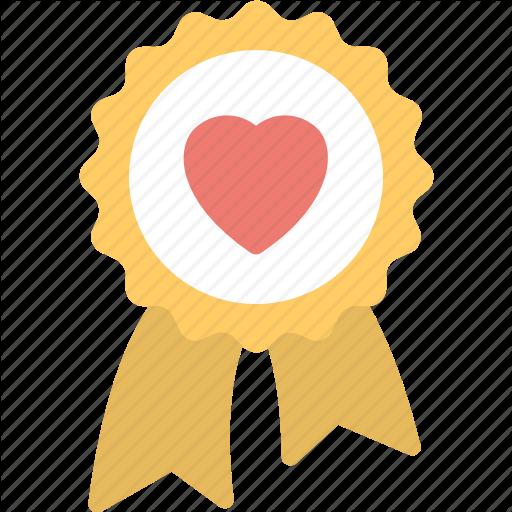 Award Badge, Heart Award, Heart Award Badge, Love Concepts