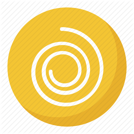 Circle Swirling, Cyclone Button, Cyclone Emoji, Spiral Shape