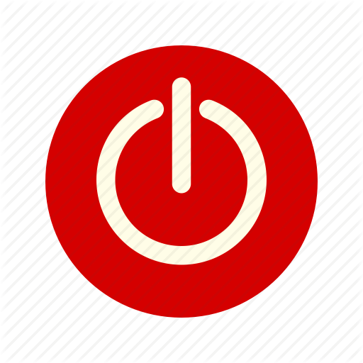 Circle, Off, Power, Power Button, Power Off, Start, Switch Icon