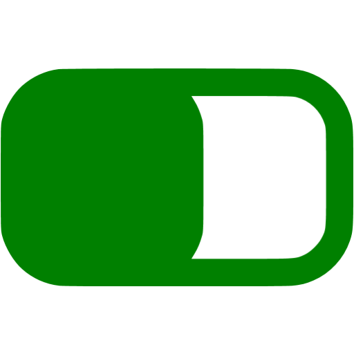 Green Switch On Icon