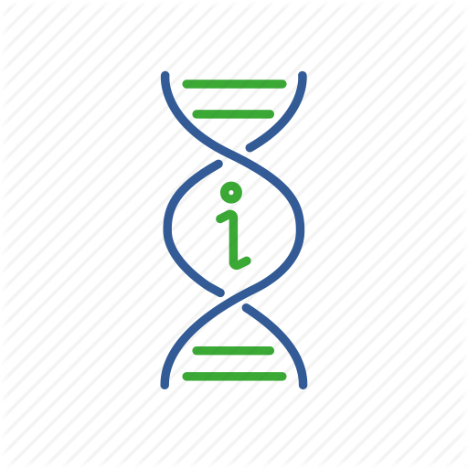 Bio, Bioinformatics, Data, Dna, Gene, Genomic Icon