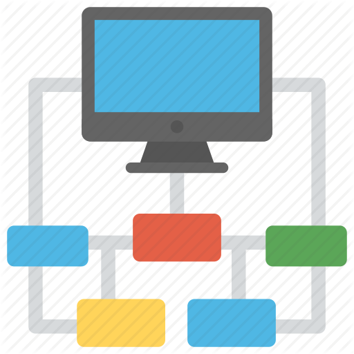 Device Connection, Flowchart, Network Administrator, Sitemap
