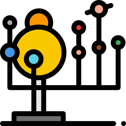 Solar System Icon Learning Freepik