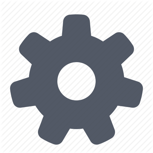 Cog, Config, Gear, Options, Settings, System Icon