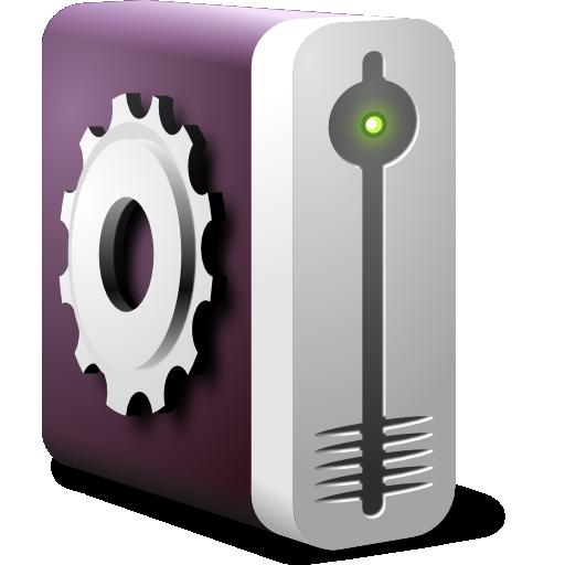 Devices Drive Harddisk System Icon Fs Ubuntu Iconset
