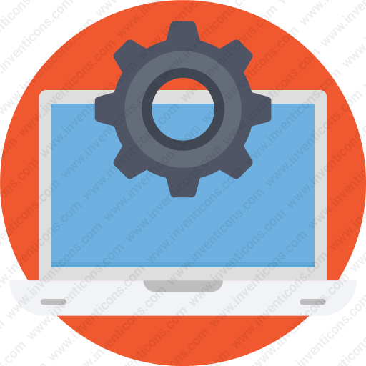 Download Configuration,laptop,settings,system Icon Inventicons