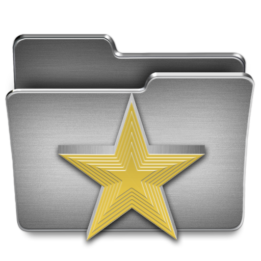 Favorites, Folder Icon Free Of Steel System Icons