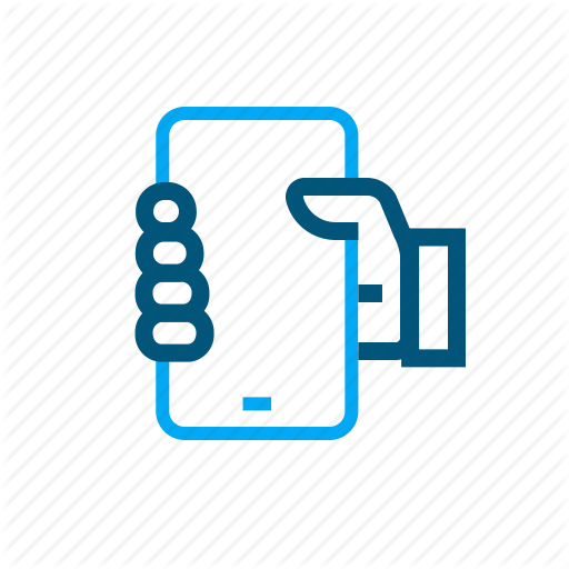 Grab, Hold, Mobile, Phone, Pick Up Icon
