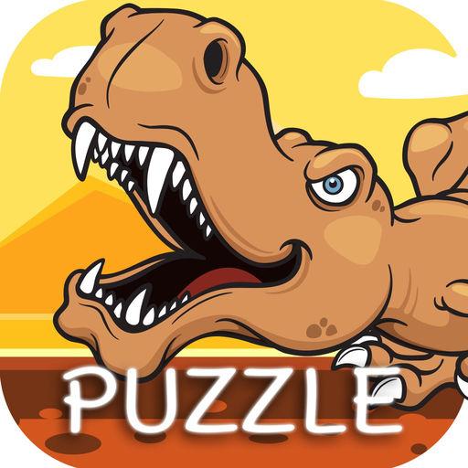 Dinosaur Puzzle Find Dino Trex