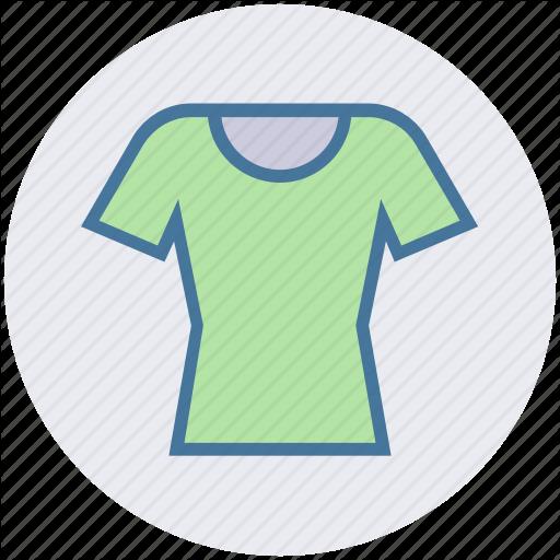 Clothe, Shirt, T Shirt, T Shirt, Tight Fit, Tight Fit Shirt Icon
