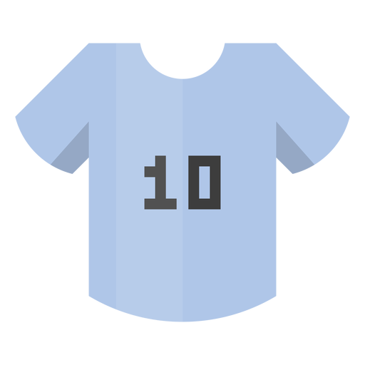 Football Shirt Number Icon