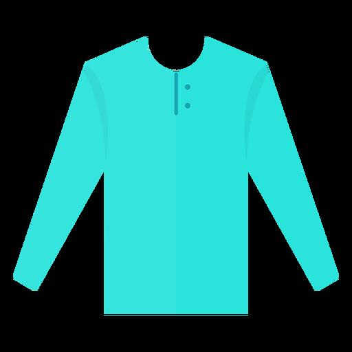Henley Long Sleeve T Shirt Icon
