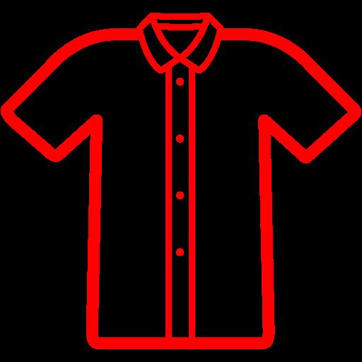 Red Polo Shirt Icon