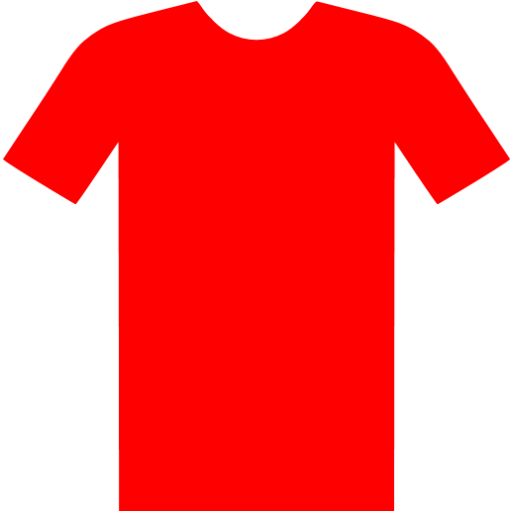 Red T Shirt Icon