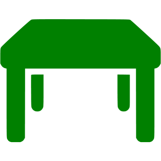 Green Table Icon