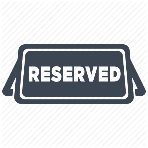Dinner, Food, Reserve, Reserved, Restaurant, Sign, Table Icon