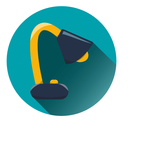 Table Lamp Round Icon