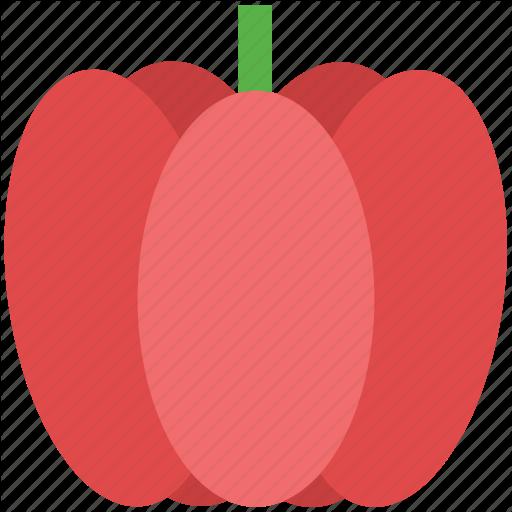Bell Pepper, Capcicum, Food, Pepper, Sweet Pepper, Vegetable Icon