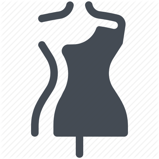 Dressmaking, Dummy, Fashion, Mannequin, Model, Sewing, Tailor Icon