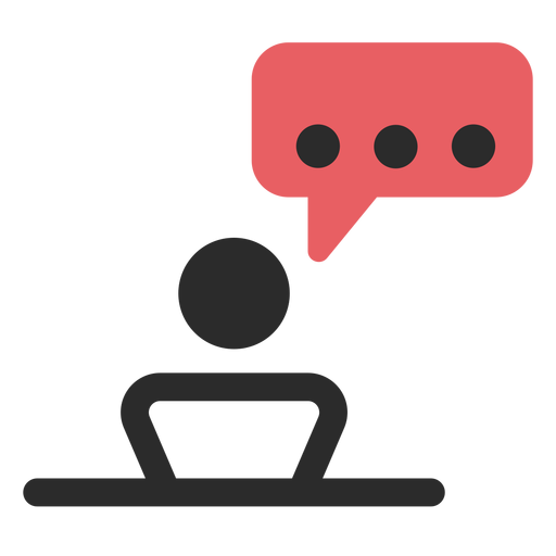 Meeting Talk Contact Icon