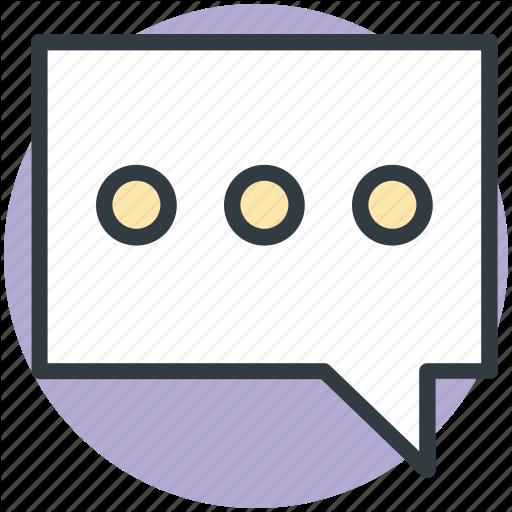 Bubble, Chat, Comments, Communication, Talk Icon