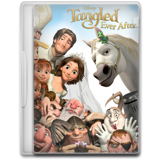 Tangled Ever After Icon Movie Mega Pack Iconset