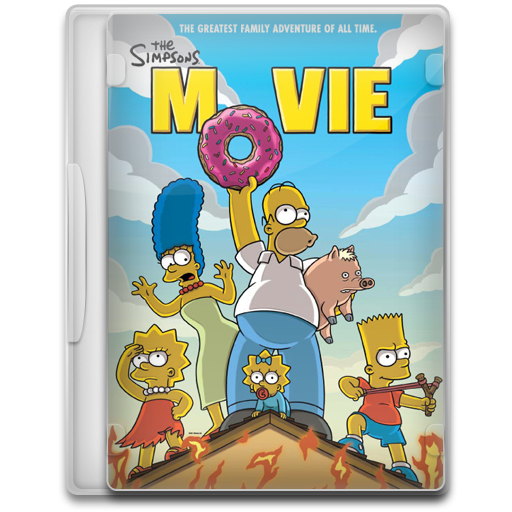 The Simpsons Movie Icon Movie Mega Pack Iconset