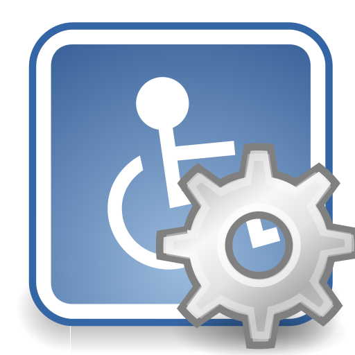 Assistive, Desktop, Preferences, Technology Icon