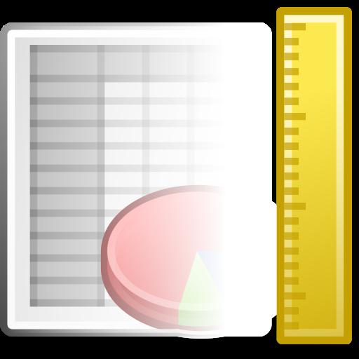 Office, Spreadsheet, Template Icon