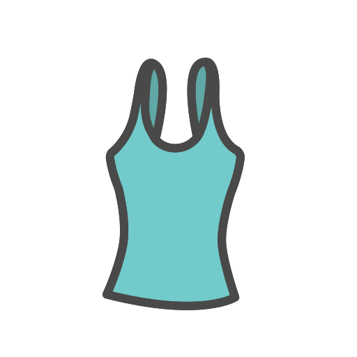 Tank, Top Icon Free Of Clothing Icons Fill Color
