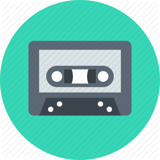 Audio, Music, Tape Icon